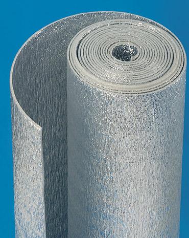 PE rolls metalized